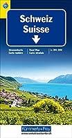 Schweiz TCS 2021 Strassenkarte 1:301 000 Laufzeit bis 2025
