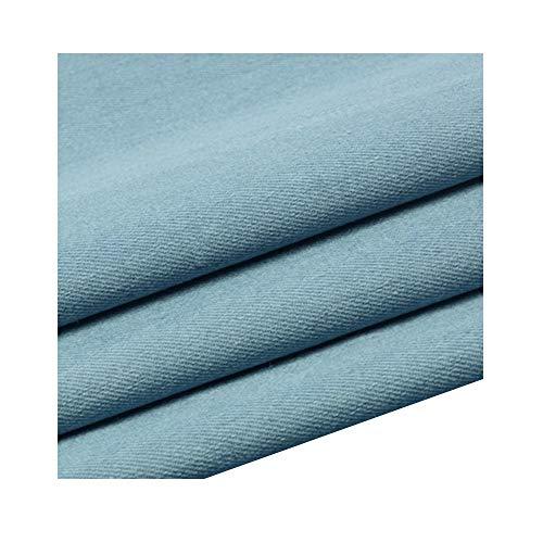 Denim stof Medium dik katoen Gewassen overhemd Korte rok Gordijnbank Elastisch(150cm x 50cm)