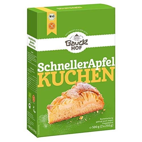 Bauckhof Apfelkuchen-Backmischung, glutenfrei (500 g) - Bio