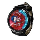 Anime Sonic The Hedgehog Series Reloj LED Pantalla táctil binaria Impermeable Reloj de luz Digital Reloj de Pulsera Unisex Cosplay Regalo Relojes de Pulsera para-A014