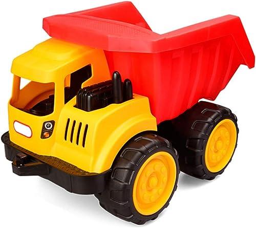KS Strandspielzeug-Set,Be- Und Entladen Bagger Kunststoff Strandspielzeug,Glatt Sicherheit Sandkastenspielzeug Für Kinder Geschmacklos A   35.5x22.5x23.5cm