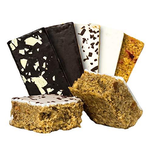 Supplify Oat Cake Energieriegel (Mix Box) - Energy Oatsnack zum Muskelaufbau oder Abnehmen - leckerer als Protein-Riegel & -Pulver (24x125g)