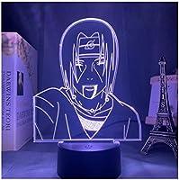 3Dイリュージョンナイトライト アニメのテーマ スマートタッチ 3Dランプオプティカル7色段階的に変化する子供用LEDライトスマートタッチベッドサイドランプベッドルーム男の子用ホームデコレーションクリスマスギフト