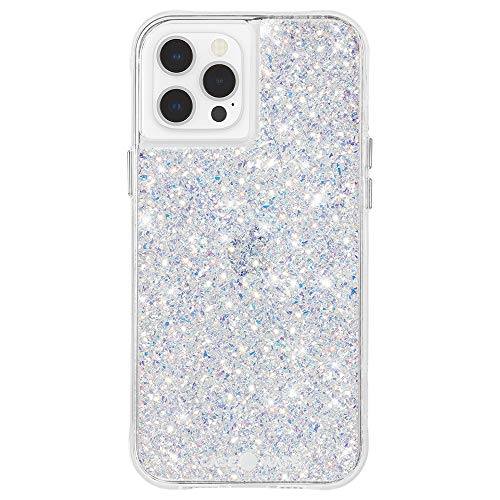 Case-Mate - Twinkle - Case for iPhone 12 and iPhone 12 Pro (5G) - 10 ft Drop Protection - 6.1 Inch - Stardust