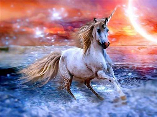 AMDPH 5D DIY Diamond Painting Material Pack Giocattoli Educativi Pittura Decorativa Stimolante Esecuzione di Pegasus
