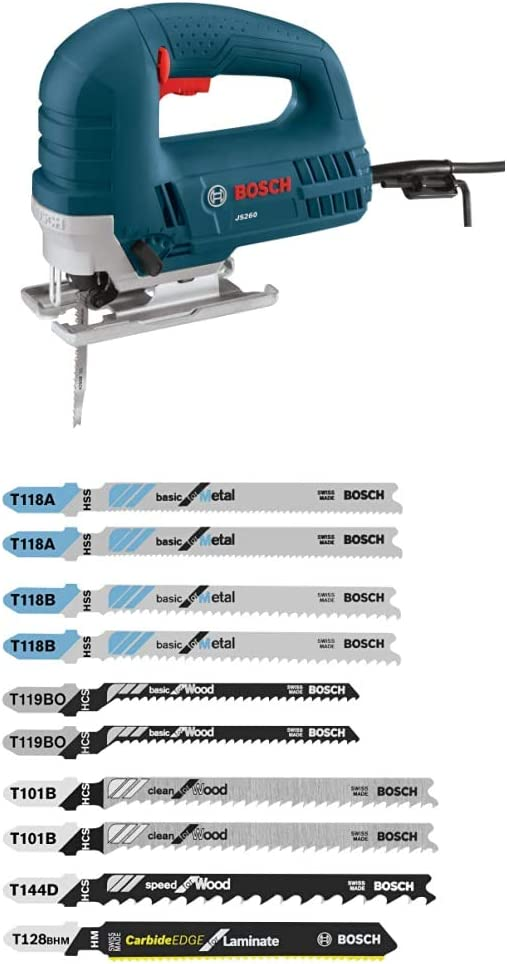 Ranking TOP6 Bosch JS260 120-Volt Top-Handle Jigsaw Blue with 55% OFF 6.0 Amp pc. 10