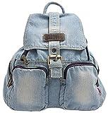 Ichic Boutique(TM) Sac à Dos Loisir Cartable en Jeans pour Filles Femmes Scolaire Voyages...