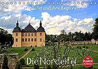 Die Eifel und ihre Regionen - Die Nordeifel (Tischkalender 2022 DIN A5 quer): Die Nordeifel ist ein Paradies der Sehenswuerdigkeiten (Geburtstagskalender, 14 Seiten )