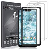 [3 Pack] LK Screen Protector for Google Pixel 3 XL Tempered Glass [New Verison] [Front Camera Hole...