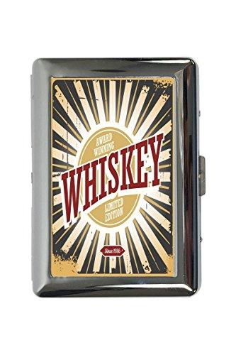 Zigarettenetui Box Alkohol Whiskey Bedruckt Bar Kneipe Restaurant