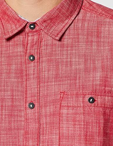 edc by Esprit 037cc2f004 Camisa, Rojo (Bordeaux Red), XX ...