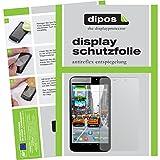 dipos I 2X Schutzfolie matt kompatibel mit Odys Orbit LTE Folie Bildschirmschutzfolie