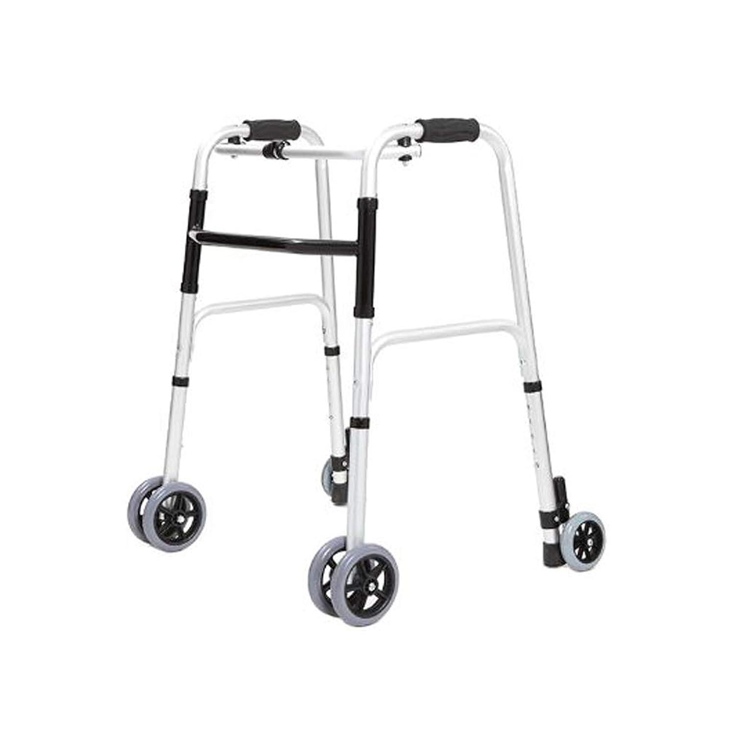ツーリスト小数つかの間[ラオンアチ] 大人のための歩行器 折りたたみ 車輪型歩行器 6輪歩行車 5段の高さ調節可能 [日本語説明書付き] [海外直送品]