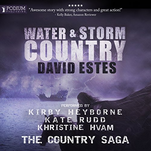 Water & Storm Country audiobook cover art