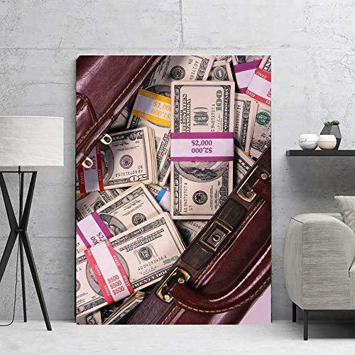 yaoxingfu Puzzle 1000 Piezas Dólar Imagen Dinero Moneda en Juguetes y Juegos Gran Ocio vacacional, Juegos interactivos familiares50x75cm(20x30inch)