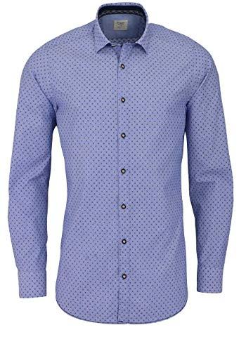 OLYMP Herren Body Popeline Shapewear Blau XL