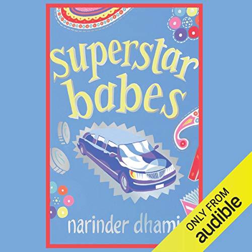 Superstar Babes audiobook cover art