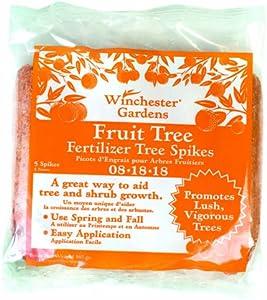 Winchester Gardens 5-Pack Fertilizer Spikes, Fruit and Citrus, 8-18-18