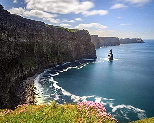NC69 Cliffs Of Moher Irland Malen nach Zahlen Diy Unique