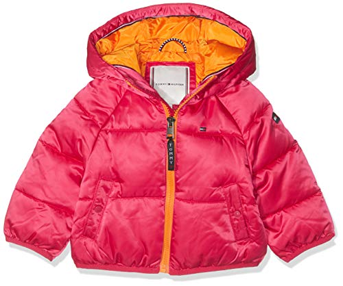 Tommy Hilfiger baby-meisjes jas/jack RECYCLED SHORT PUFFER