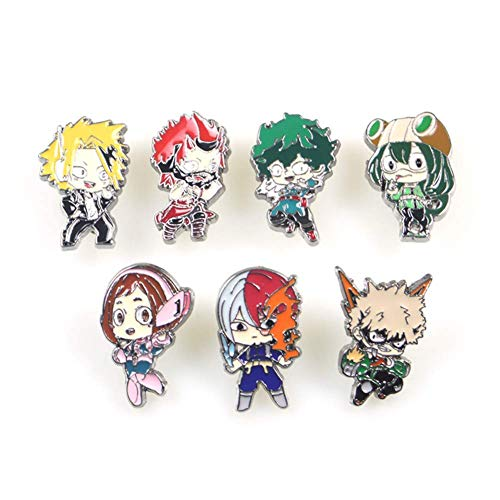 Christ For Givek My Hero Academia Cosplay Abzeichen Cartoon Epoxid Charakter Brosche Pins Sammlung Beutel Knopf Abzeichen Neuheit Anime Zubehör für Tasche - H08