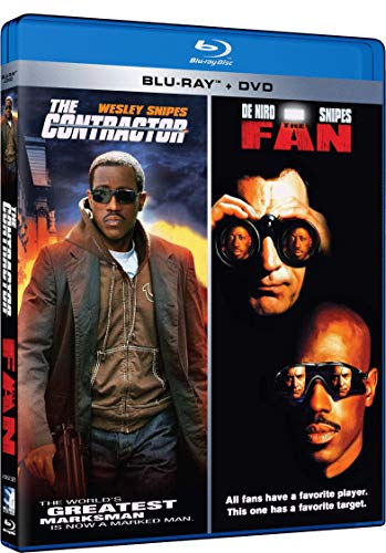 The Contractor and The Fan Double Feature [Blu-ray]