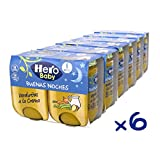 Hero Baby Buenas Noches Tarritos Infantiles 6 Unidades 380 g