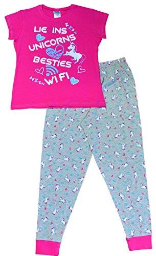 Thepyjamafactory - Pijama - niña Rosa Rosa 15-16