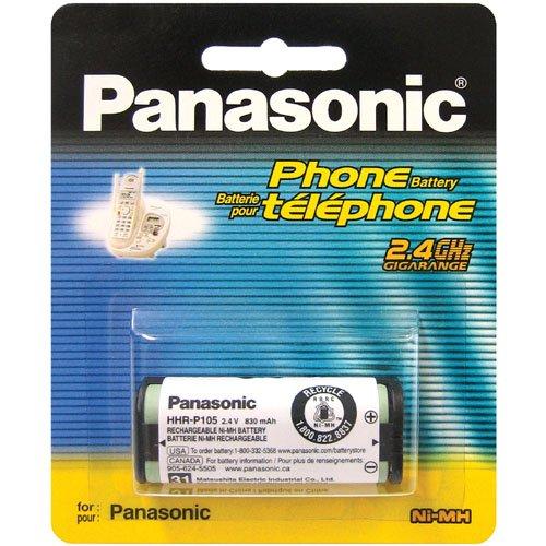 Panasonic HHR-P105A wiederaufladbar Akku–wiederaufladbar Batterien (Nickel-Metallhydrid-(NiMH), AA)