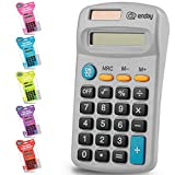 Calculator Grey, Basic Small Solar and...