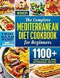 Best Mediterranean Cookbooks - The Complete Mediterranean Diet Cookbook for Beginners: 1100+ Review