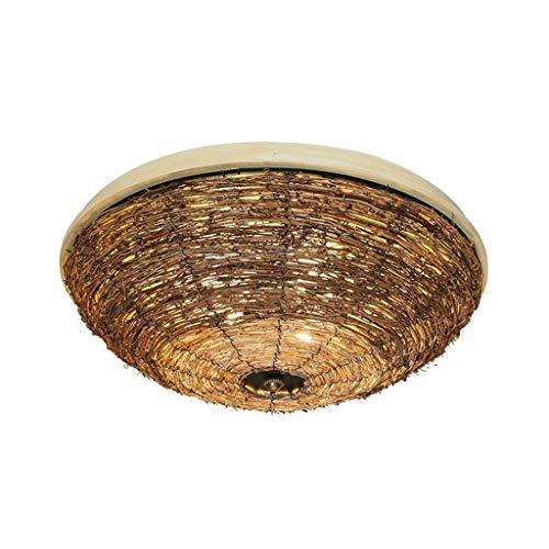 SPNEC American Style Estilo Pastoral diseño Creativo Rattan Arte del Techo de la lámpara Elegante y Respetuoso del Medio Ambiente lámpara Decorativa