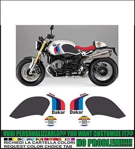 Kit adesivi decal stikers compatibili R NINET PARIS DAKAR (ability to customize the colors)