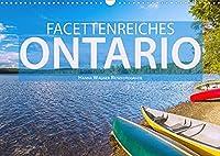 Facettenreiches Ontario (Wandkalender 2022 DIN A3 quer): Hanna Wagner zeigt Monat fuer Monat die beeindruckende Vielfalt der ostkanadischen Provinz Ontario. (Monatskalender, 14 Seiten )