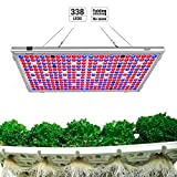 Relassy Lampe de Plante, 300W Lampe LED Horticole Floraison Lampe de Croissance, Lampe de Culture avec 338 LEDs pour Plante Croissance Floraison (M-300)