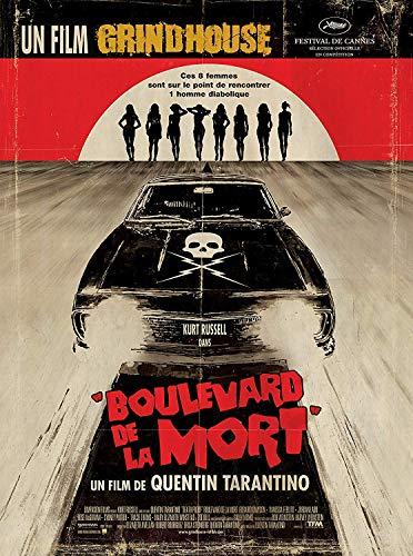 Affiche Cinéma Originale Grand Format - Boulevard De La Mort (format 120 x 160 cm pliée)