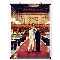バナナフィッシュアニメマンガウォールポスタースクロールホームデコレーションウォールアート 19.7x29.5inch/50x75cm