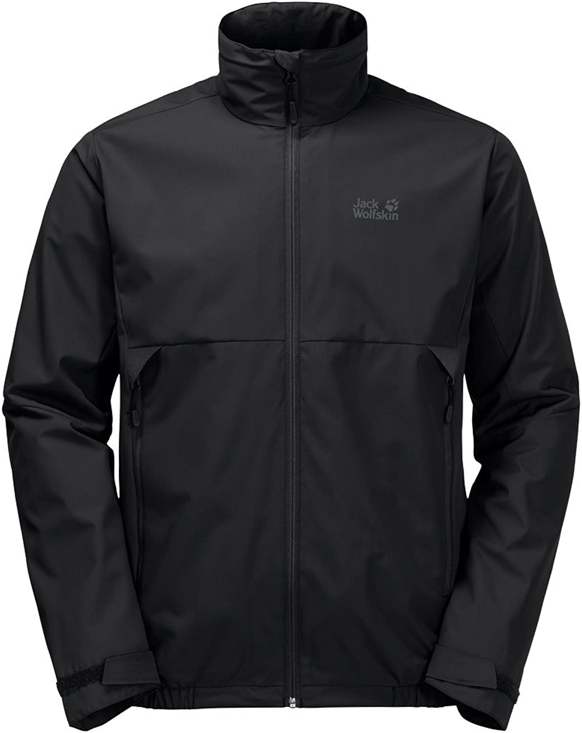 Jack Wolfskin Men's Quinto Valley Jackets Black XLarge