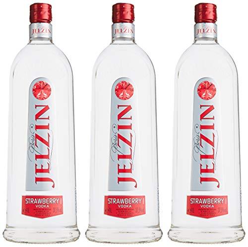 Jelzin Vodka Strawberry (3 x 1 l)