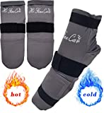 Cold Therapy Socks (w/Compression Strap) - Ice Pack Socks Cooling Socks Gel Ice Treatment for feet, Heels, Swelling, Arch Pain,Gray,1 Pair Socks Gel Ice Treatment for feet, Heels, Swelling, Arch Pain