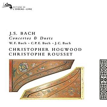 Bach, J.S., W.F., C.P.E & J.C.: Works for Two Harpsichords