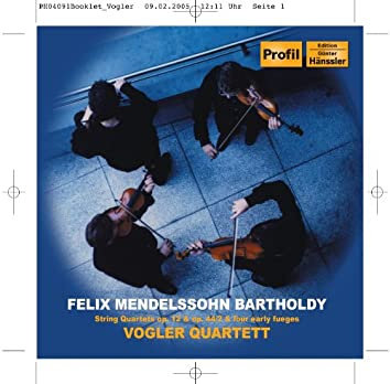 Mendelssohn: String Quartets 1 and 4 / Fugues