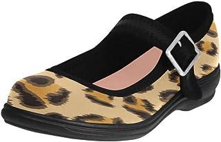 Mary Jane Flats for Women Ladybug Girls Ballet Shoes Comfort Printed Walking