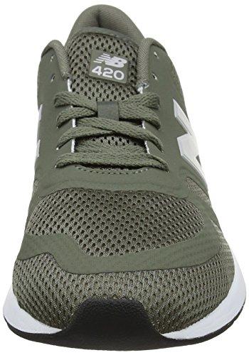 New Balance Mrl420v1 Zapatillas Hombre, Verde (Olive/Weiss), 41.5 EU