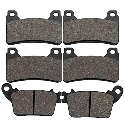 Yerbay Compatible Motorcycle Front and rear Brake Pads for honda CBR600RR CBR600RRACBR 600 RR...