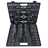 Segomo Tools 110 Piece Hardened Alloy Steel Metric Tap And Die Threading Tool Set With Storage Case
