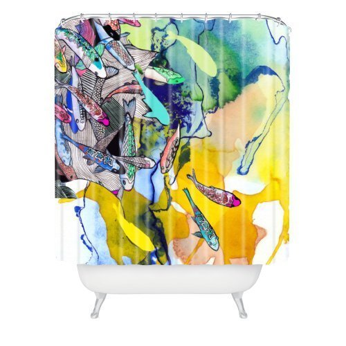 Haloxa Deny Designs Mikaela Rydin Moving Shower Curtain, 69 by 72-Inch Fashion10414