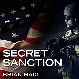 Secret Sanction audiobook cover art