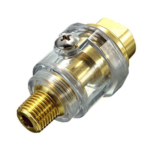 Sharplace Mini-Öler für Druckluft Werkzeug Schlagschrauber Schleifer Druckluftöler Ölnebler Miniöler Nebelöler