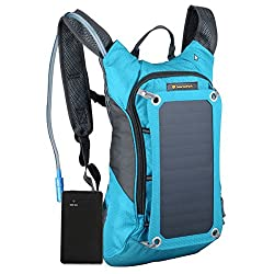 Solar powered backpack, hydrater and storage